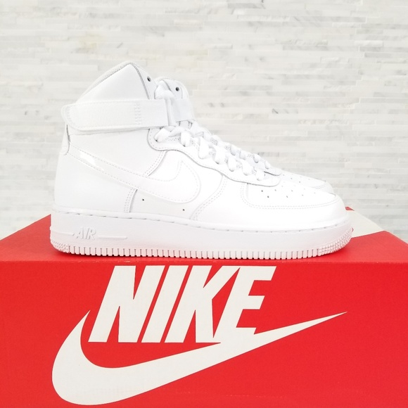 WHITE 653998-100 GS AIR FORCE 1 HIGE
